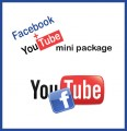 Facebook + Youtube Mini Package