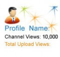 10,000 YouTube Channel Views