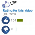 100 YouTube Video Likes